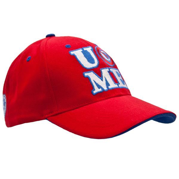 wwe john cena baseball cap neon hat red package shirt sweatband set necklace 15x
